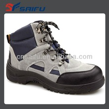 Action leather fashion safety work shoes leather working shoes