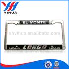 Hot factory custom metal license plate frame