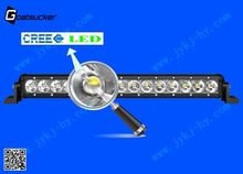 9-32V single row 17 Inch 45W LED Light Bar for auto parts nissan pathfinder