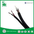 sdg venta caliente 75 ohm rg59 cable coaxial con cable de alimentación para circuito cerrado de televisión y televisión por cable