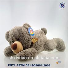 Stuffed Animal toy/plush sleeping animal/bear stuffed animals