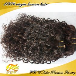 Cheap 5A curly human hair 100% unprocessed wholesale virgin brazilian hair
