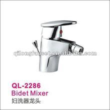 Beautiful single lever oval handle Bidet faucet QL-2286