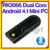 New arrival ! MK809 II Android 4.1 Mini PC HD Dual core 1GB RAM 8GB Bluetooth android tv stick remote