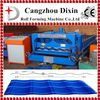 DIXIN 828 galvanized roofing sheet glazed tile roll forming machine