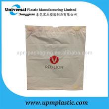 Reusable wholesale Hotel cotton tape plastic Laundry Bag in bulk