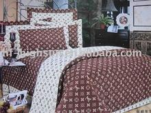mini qtty cotton printing bedding set