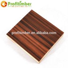 Melamine Surface Lay MDF Wood