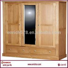 Girls bedroom storage wardrobe with narrow 4 drawers