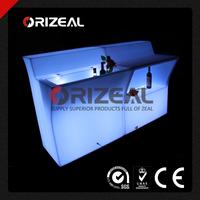 Mobile Glow Illuminated LED Jumbo Bar Droit Counter (OZ-LF-1001)