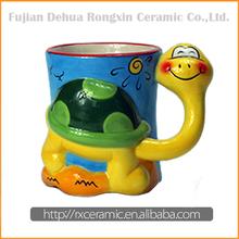 High Quality Wholesale cartoon 3d mug for kids