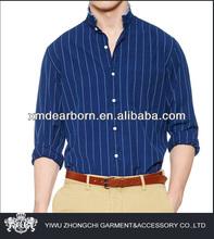 dark blue stripe men's brand name clothing