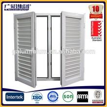 aluminium blind inside double glass window/metal window blind