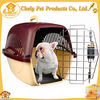 Pet Product Supplier Dog Carrier Plastic Combine Wire For Pets Outing Pet Cages,Carriers & Houses