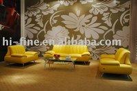 Hot Sale cheap modern Leather Sofa Set