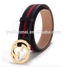 New design 2015 genuine man leather, full grain leather belt