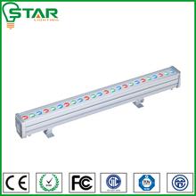 RGB cree/epistar chip 24w led wall washer