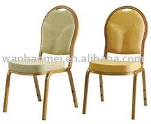 Aluminum/steel banquet chair,