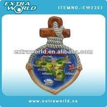 sicilia ceramic souvenir fridge magnet for gift