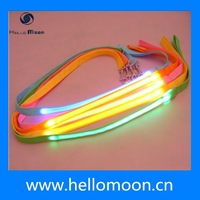 2015 New Arrive Cheap Colorful Light up Dog Leash
