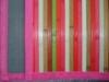 Mulicolor Non-slip Decorative Floor Mat Bamboo Mat