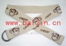 kids/children canvas/fabric webbing belt