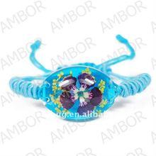 Brand-new flower amber bracelet beautiful girl jewelry
