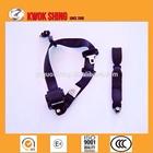 EMARK, TS16949, emergency self-locking 3 point car seat belt