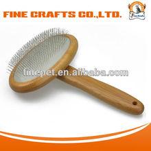 soft slicker brush for dog