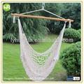alta qualidade pendurado corda de algodão cadeira de balanço