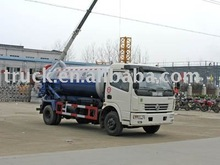 5 cbm sewer cleaning truck, 5000 liters sewage suction truck,vacuum tank truck