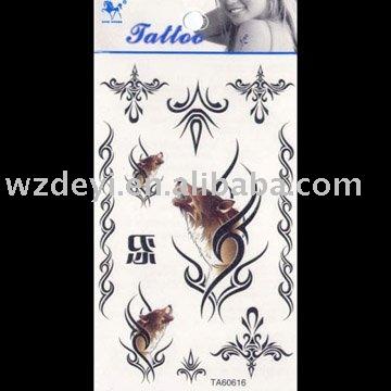 Temporary Tattoo Sticker, EN71 Passed 2011 New products, buy Temporary Tattoo Sticker, EN71 Passed 2011 New