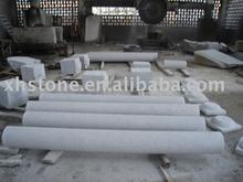 garden granite round long column