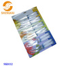12pcs titanium kitchen knives in pp handle