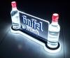 Beer Plastic LED Bottle Holder, LED Bottle Glorifier