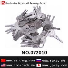Hot-sale auto locksmith tools 64 different two side teeth lockpicks to open car locks /072010