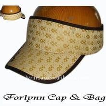 New design straw sun visor cap