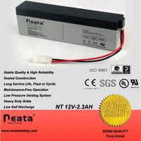 lead-acid battery 12v 2.3ah