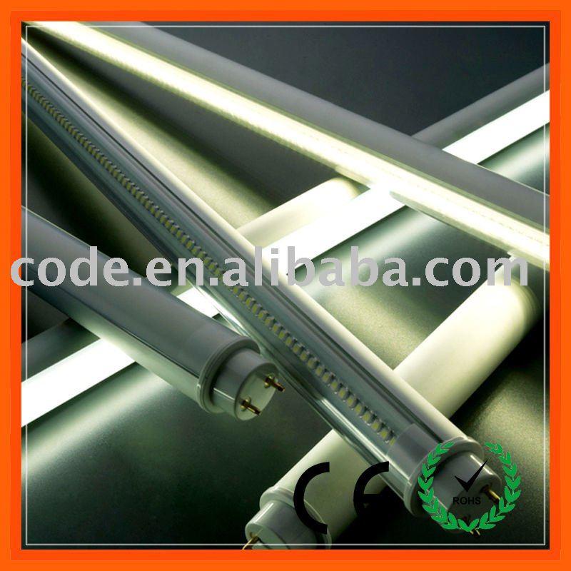 del tubo del led t8 con super brillante smd led y base de aluminio