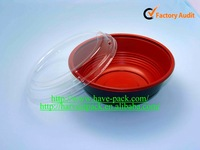 24 oz anti-fog disposable microwave plastic round bowl