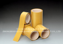 Well-made, Great industrial PET double sided tape with Glassine release paper.