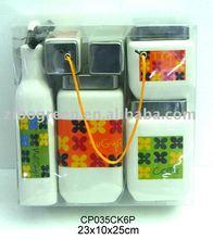 CP035K6 7pcs ceramic jar set set