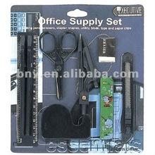 cheap 11pcs children school Stationery set (school kit )