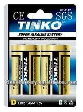 shenzhen manufacturer alikaline LR20 1.5v Dry batteries