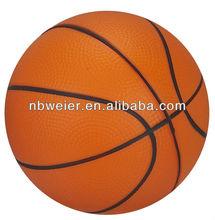 PU anti stress toy/dia.10cm stress basket ball