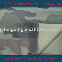 PVC coated printed raincoat fabric