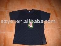 EL sound active T-shirt/EL flashing shirt