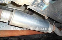 stainless car back exhaust muffler
