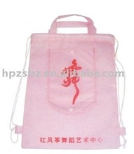 Non-woven shoulder bags,double shoulder backpack