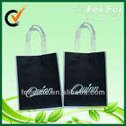 Black nice nonwoven tote gift bag